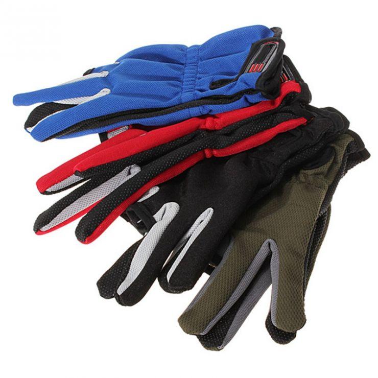 Перчатки Рыболова красные-зеленые-синие