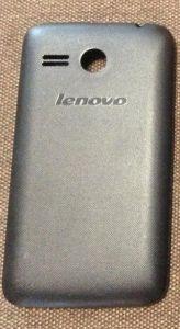 Задняя крышка Lenovo A316 (black) Оригинал