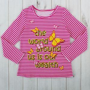 Яркая блуза цвета фуксия