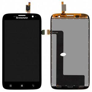 LCD (Дисплей) Lenovo A859 (в сборе с тачскрином) (black)