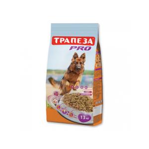 """Корм Трапеза """"Био"""" с говядиной для взрослых собак с нормальным весом 10кг"""