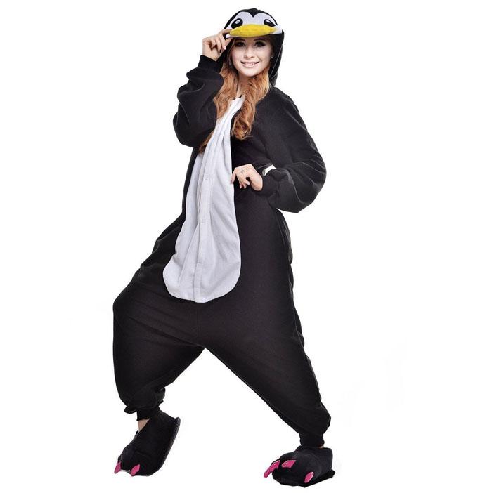 Пижама Кигуруми Пингвин Премиум