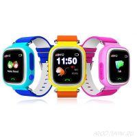 Умные детские часы Q60 с GPS Smart Baby Watch