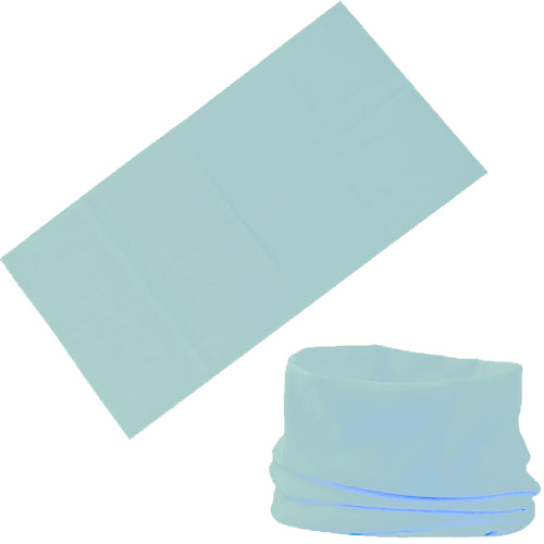 Бандана-трансформер бледно-голубая