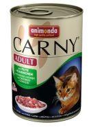 Animonda Carny Adult Говядина с индейкой и кроликом (400 г)