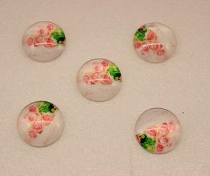 Кабошон, стекло, диаметр 25 мм (1уп = 10шт), Арт. КС0090