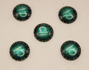 Кабошон, стекло, диаметр 25 мм (1уп = 10шт), Арт. КС0162