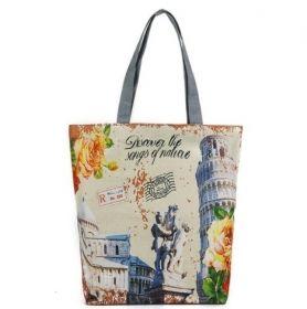 Летняя сумка «Город Пиза»