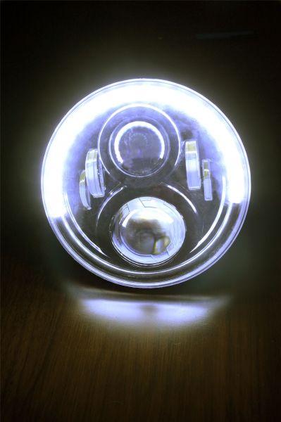 Светодиодные фары головного света 7 дюймов 120Вт полукольцо
