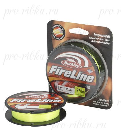 Плетеный шнур Berkley Fireline Green 110m 0,15mm 7.9kg