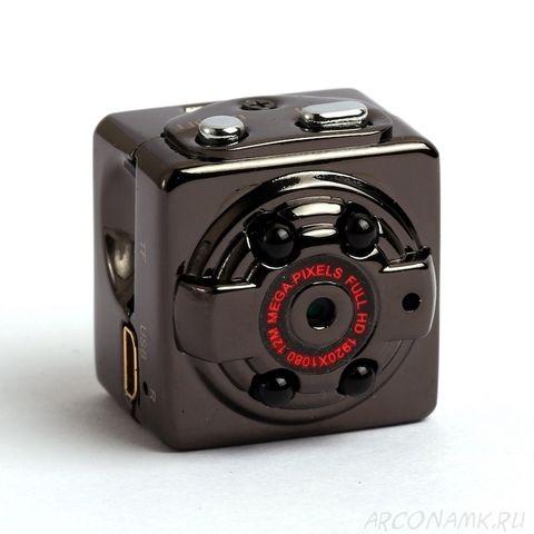 Видеокамера Mini DV SQ8 Full HD с датчиком движения и ночной подсветкой