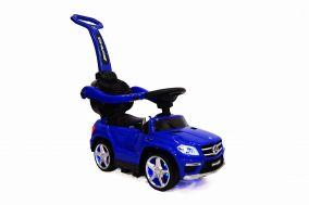 Детская каталка c ручкой RiverToys Mercedes-Benz GL63 VIP ( видео в описании )