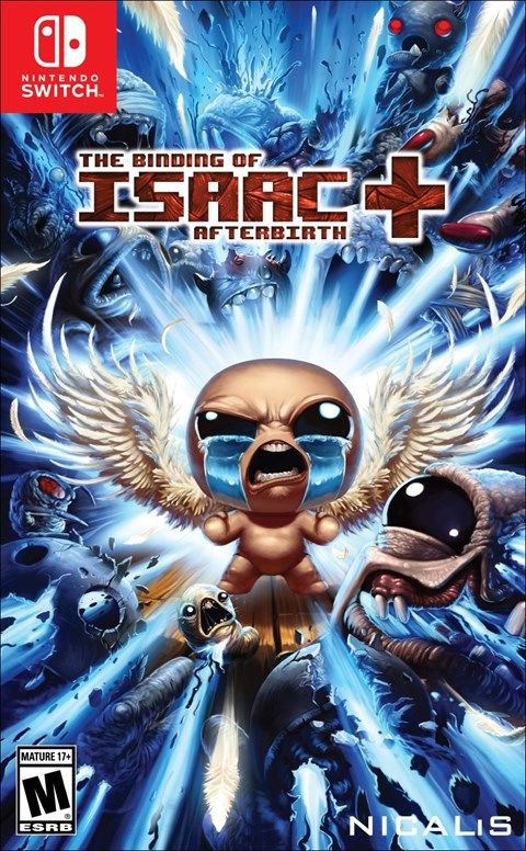 Игра The Binding of ISAAC: Afterbirth+ (Nintendo Switch)