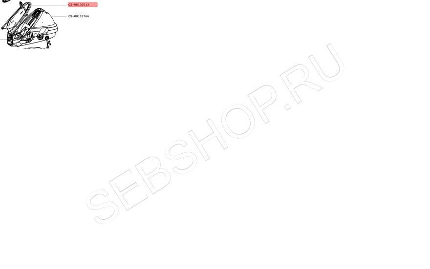 Основание, подставка утюга парогенератора TEFAL (Тефаль) GV8961, GV8963, GV8964. Артикул CS-00130513