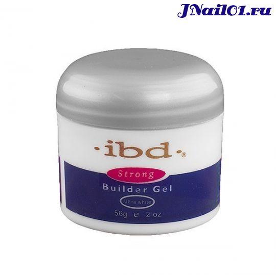 Гель конструирующий Ibd builder gel ультрабелый 56g