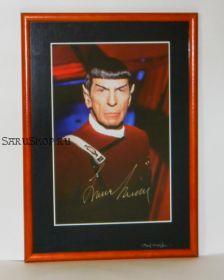 Автограф: Леонард Нимой. Star Trek. Редкость!
