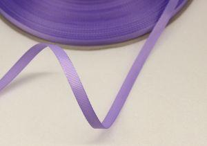 Лента репсовая однотонная 06 мм, длина 25 ярдов, цвет: сиреневый, Арт. РЛ0011