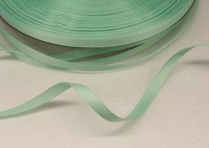 Лента репсовая однотонная 06 мм, длина 25 ярдов, цвет: светло-зеленый