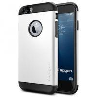 Чехол Spigen Slim Armor для iPhone 6/6S (4.7) белый