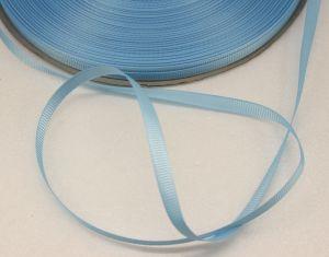 `Лента репсовая однотонная 06 мм, цвет: светло-голубой