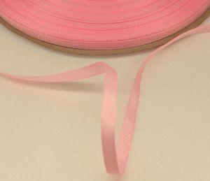 `Лента репсовая однотонная 06 мм, цвет: светло-розовый