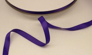 `Лента репсовая однотонная 09 мм, цвет: фиолетовый