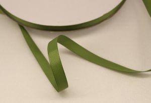 `Лента репсовая однотонная 09 мм, цвет: хаки