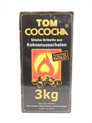 Уголь Натуральный Кокосовый Tом Cococha Желтый 3кг
