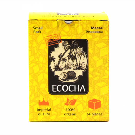 Уголь Натуральный Кокосовый Ecocha 24