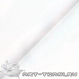 Ткань 50x40 Однотонная белая
