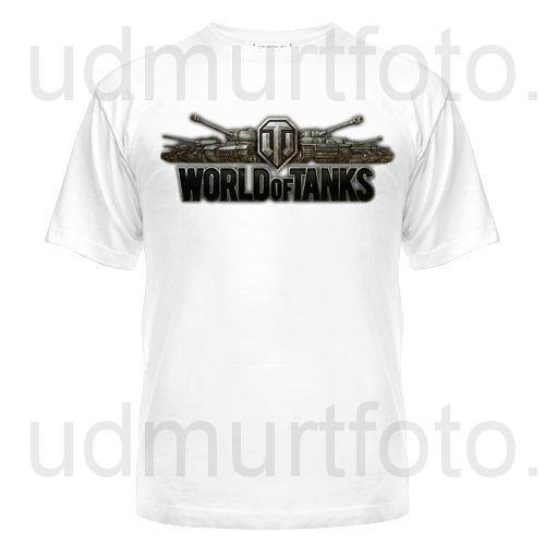 """Футболка мужская """"World of Tanks"""""""