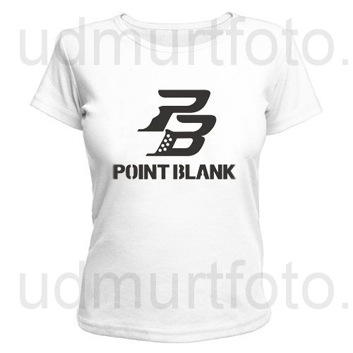 Футболка женская Point Blank