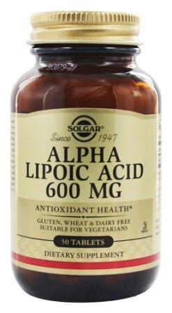 Альфа-липоевая кислота 600 мг 50 табл.