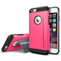 Чехол Spigen Slim Armor S для iPhone 6/6S розовый