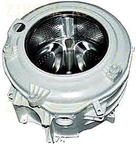 Бак стиральной машины Indesit Ariston C00145034