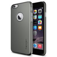 Чехол Spigen Thin Fit A для iPhone 6/6S (4.7) темный металлик
