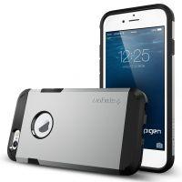 Чехол Spigen Tough Armor для iPhone 6/6S (4.7) серебристый