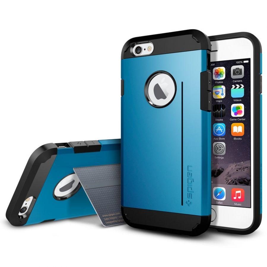 Чехол Spigen Tough Armor S для iPhone 6/6S синий