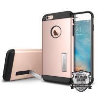 Чехол Spigen Slim Armor для iPhone 6S Plus розовое золото