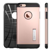 Чехол Spigen Slim Armor для iPhone 6+/6S+ (5.5) розовое золото
