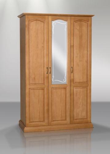 Шкаф распашной трехдверный (филенчатый)   Альянс XXI век