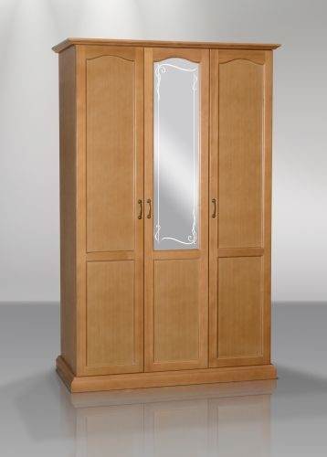 Шкаф распашной трехдверный (рамочный)  | Альянс XXI век