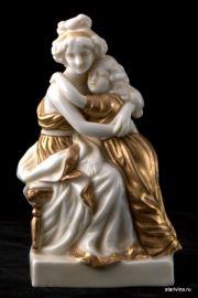 Мать и дитя. Scheibe-Alsbach, Германия. 1920-е., артикул 00200