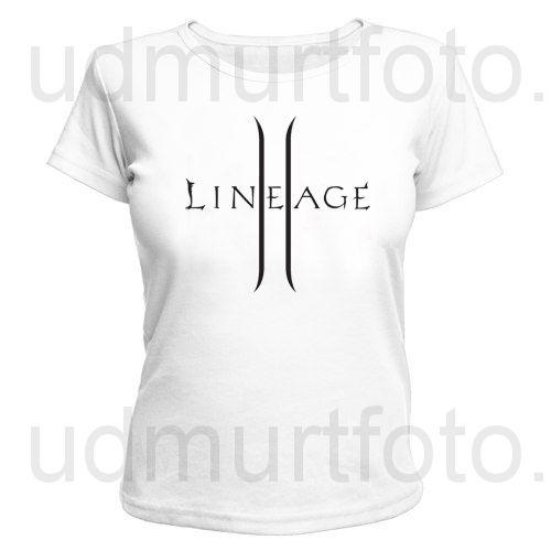 Футболка женская Lineage II