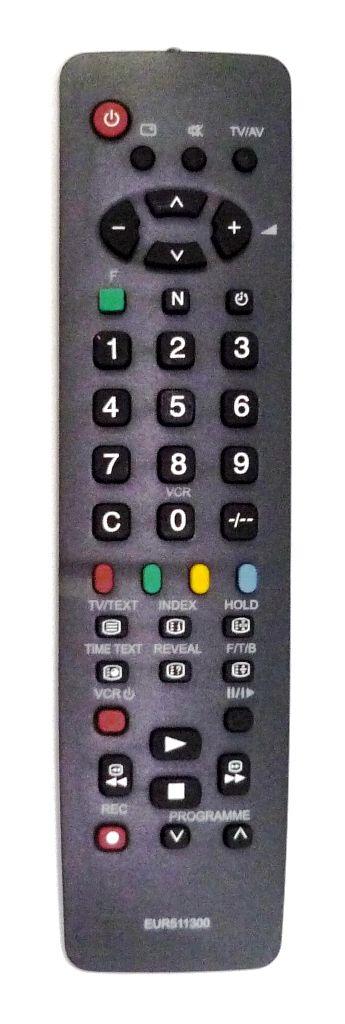 Panasonic EUR511300 (TV) (TC-14F1D, TC-14S1, TC-14S1D, TC-2158R, TC-21S1RCP, TC-21S2A, TC-21S4PT, TX-14C3T, TX-14K1T, TX-14K2T, TX-14S1TCC, TX-14S3T, TX-14S4TC, TX-15AT1, TX-20S1T)