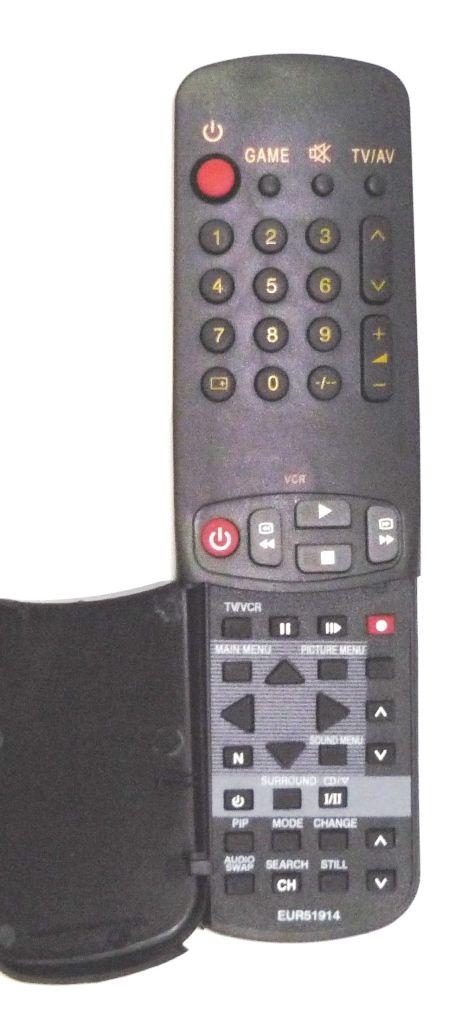 Panasonic EUR51914, EUR51902 (TV) без цветный кнопок (TC-29GA30B, TC-29GA35B)