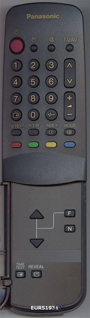 Panasonic EUR51931 (TV) (TX-20S1T, TX-21F1T, TX-21S1TCC, TX-21X1T)
