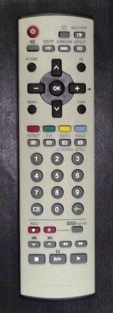 Panasonic N2QAJB000109 (TV, VCR, DVD) (TX-29F155T, TX-29P800T, TX-29PF250T, TX-29PX10P, TX-34P180T, TX-34P800T)