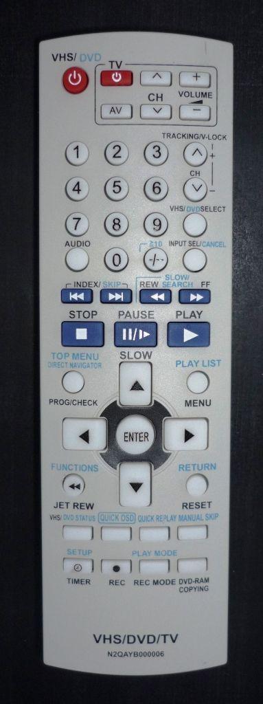 Panasonic N2QAHB000006 (AUX)