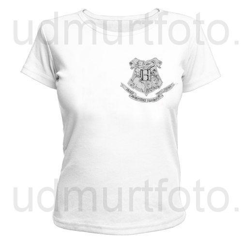Футболка женская Hogwarts